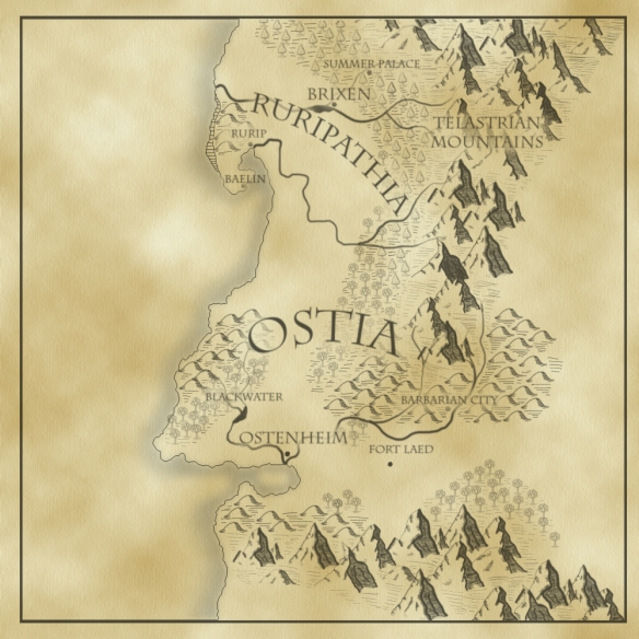 The Tattered Banner Map